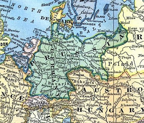 Maps of Interest: Prussia